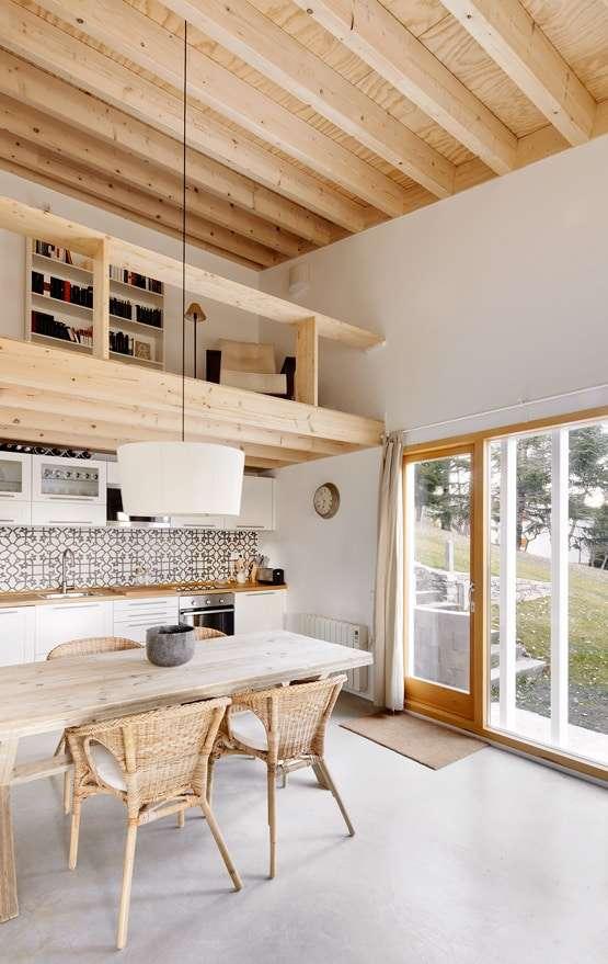 casa in legno vacanze spagna