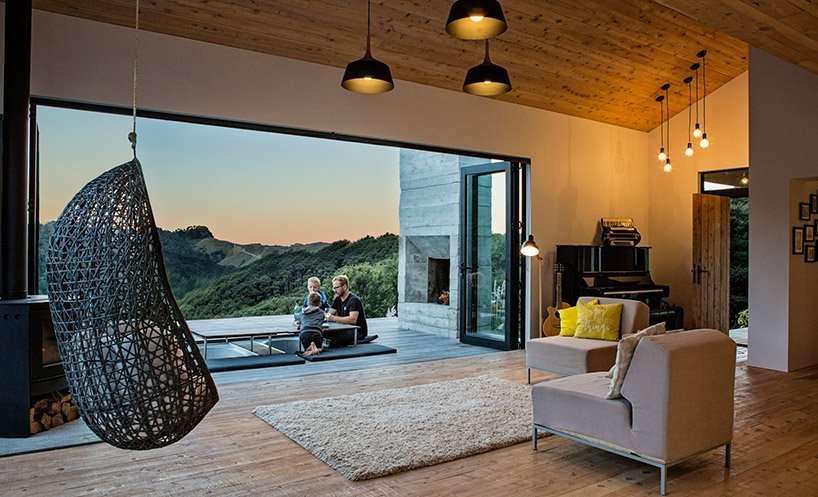 casa vacanze in legno di David Maurice