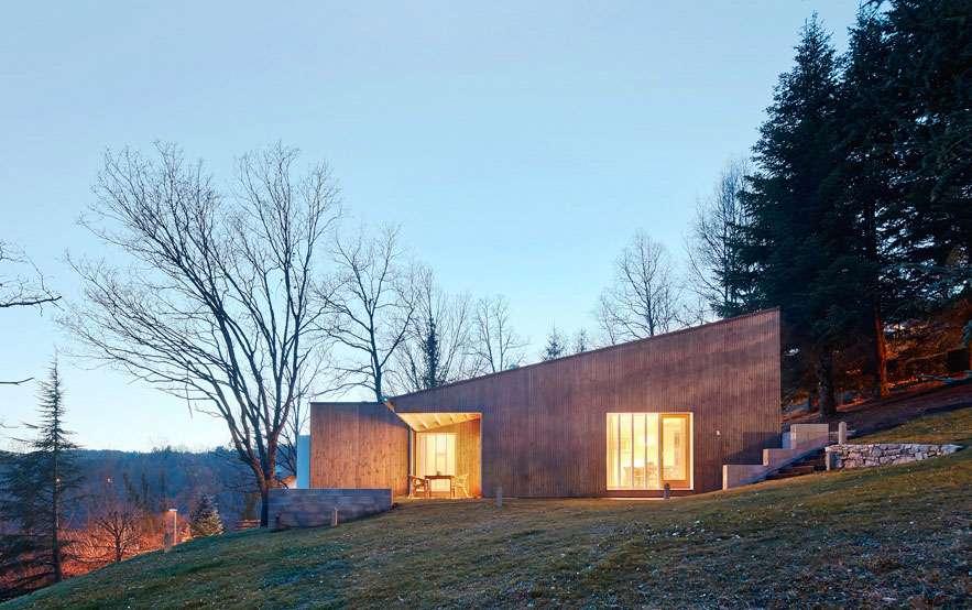 casa in legno di design
