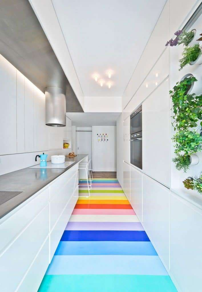 pavimenti colorati in resina