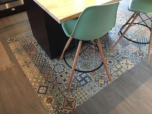 pavimenti colorati patchwork