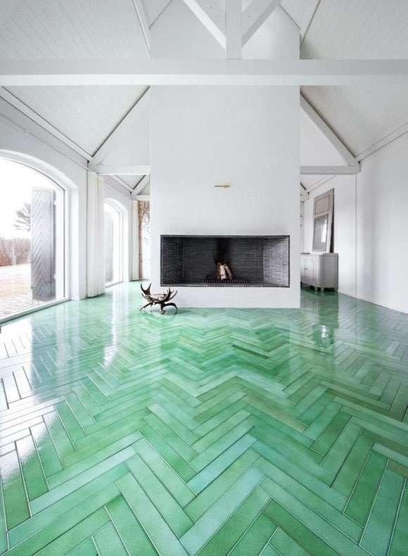 pavimenti colorati piastrelle rettangolari