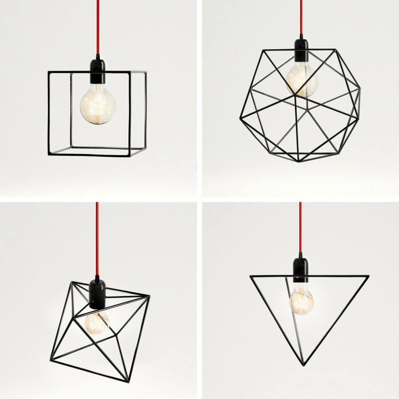 Arredamento industriale su Homeami: i lampadari Bigdesign