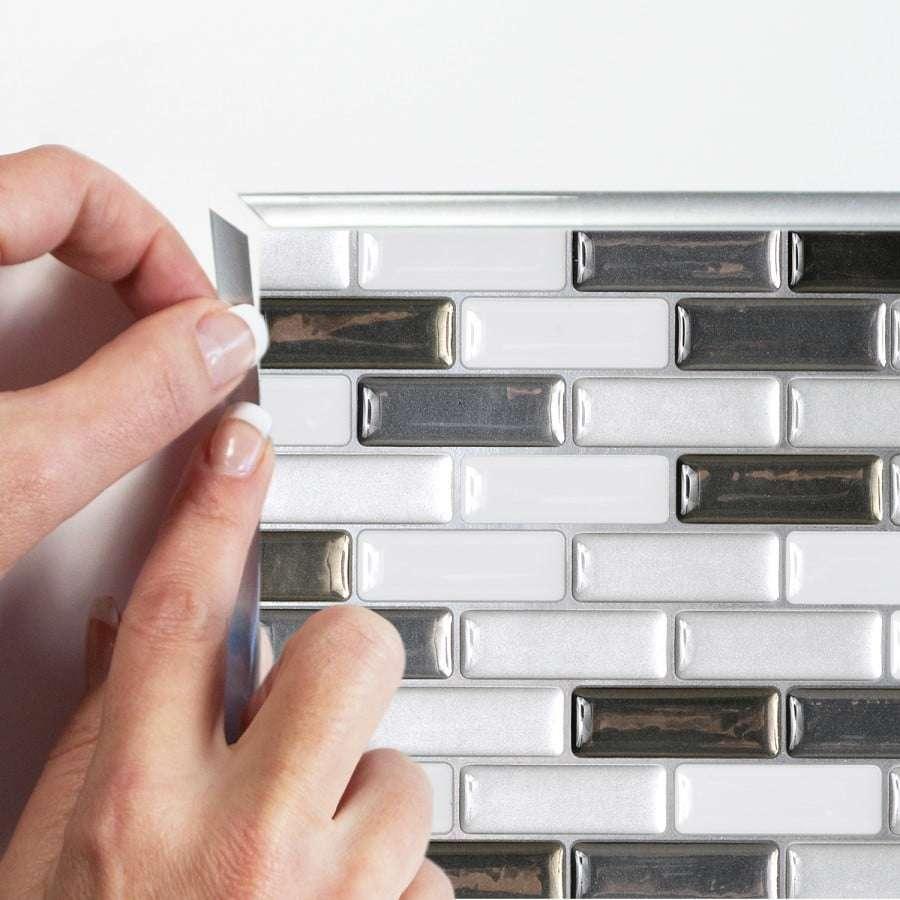 piastrelle 3d adesive vetro