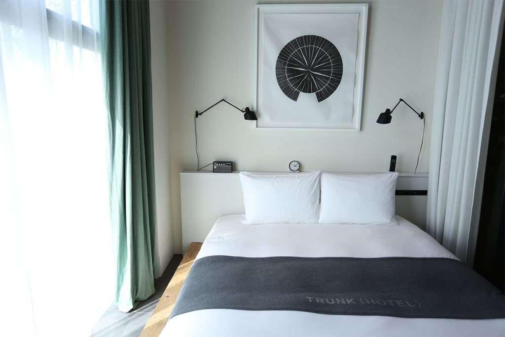 trunk hotel tokyo terrace suite bedroom 1