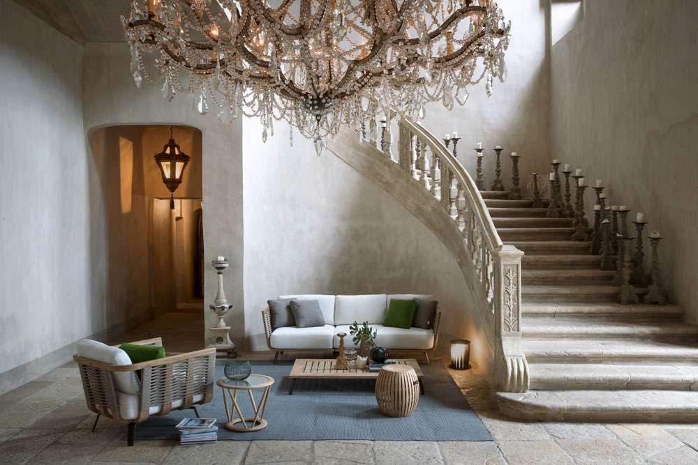 Mobili da esterno unopiù synthesis divano elegante