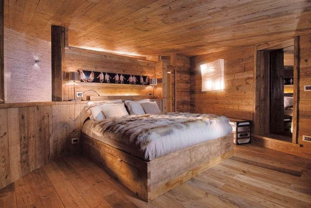 case in montagna con letto innovativo