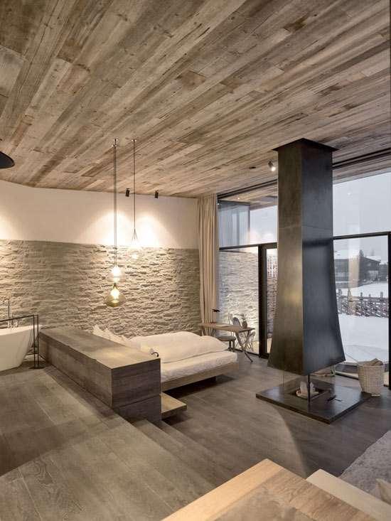 case in montagna minimaliste