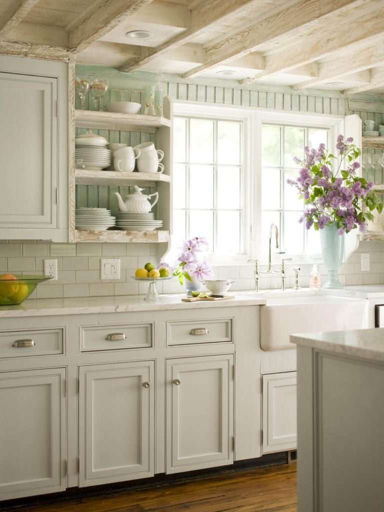 Stunning Cucina Shabby Chic Pictures - House Interior ...