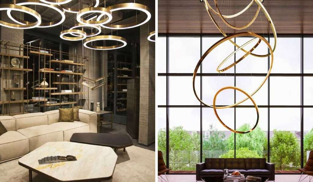 lampadari di design con led