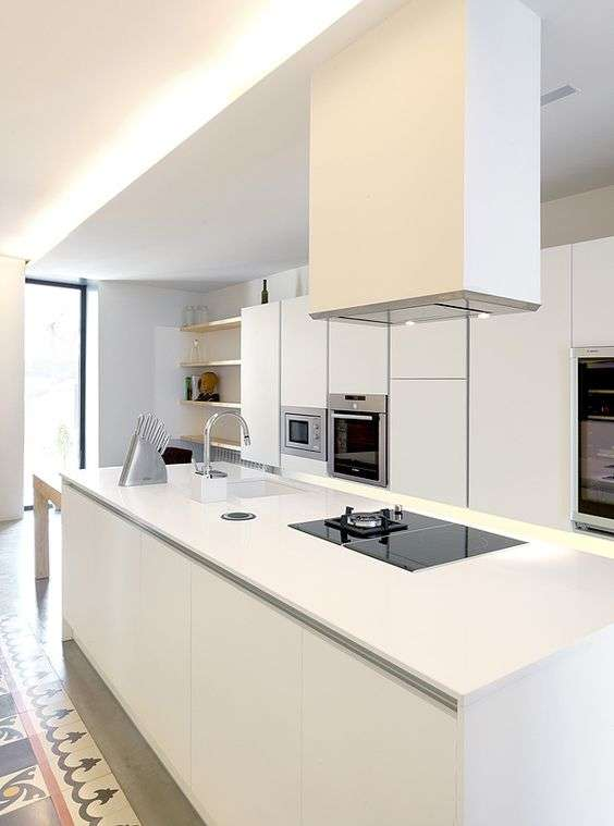cucine con isola moderne
