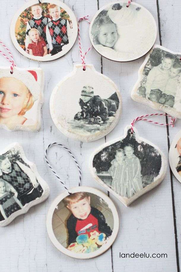 palle di natale shabby chic