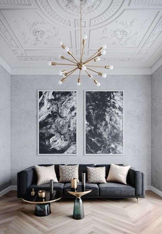 come arredare la zona living con divani di design