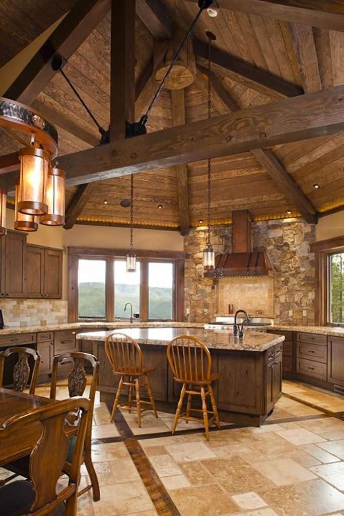 cucine country legno
