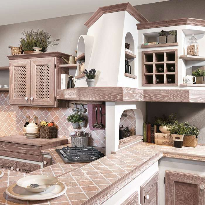 cucine rustiche progetti