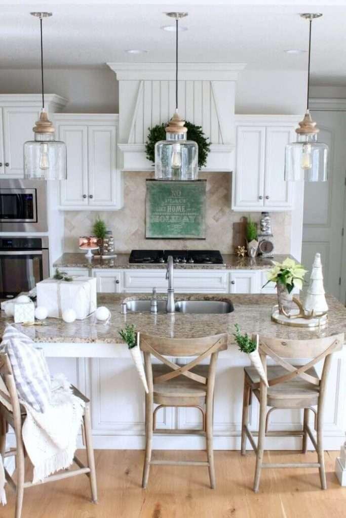cucine rustiche illuminazione