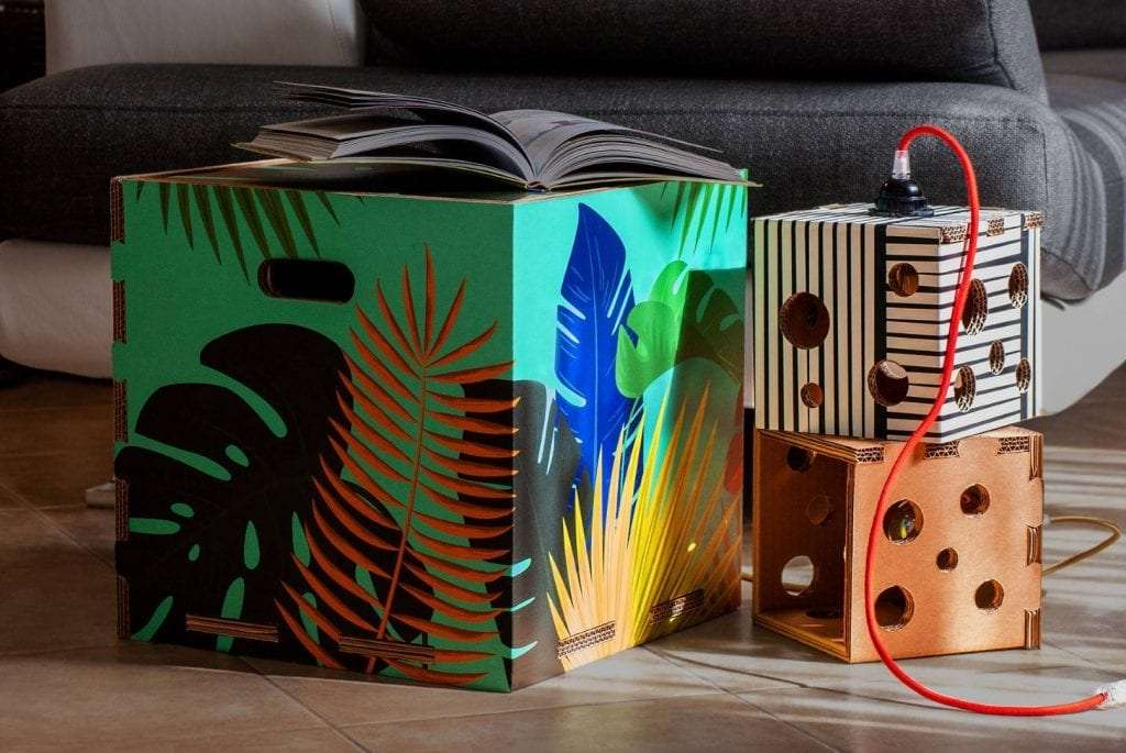 mobili in cartone di design