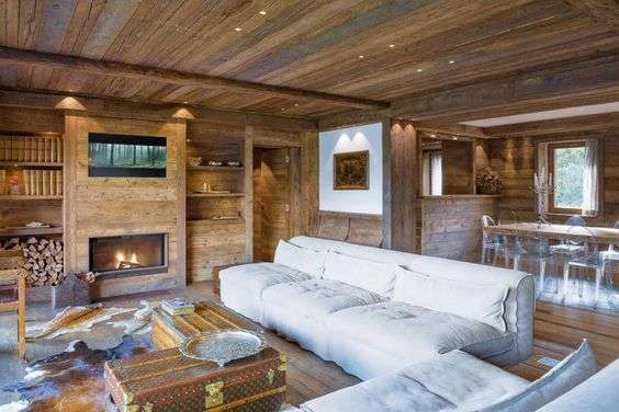 case in montagna di design