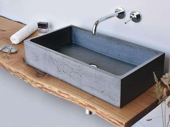 Lavabi in pietra per il bagno | Fillyourhomewithlove