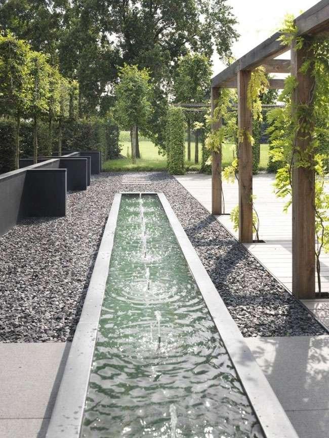 fontana giardino decorativa composizione