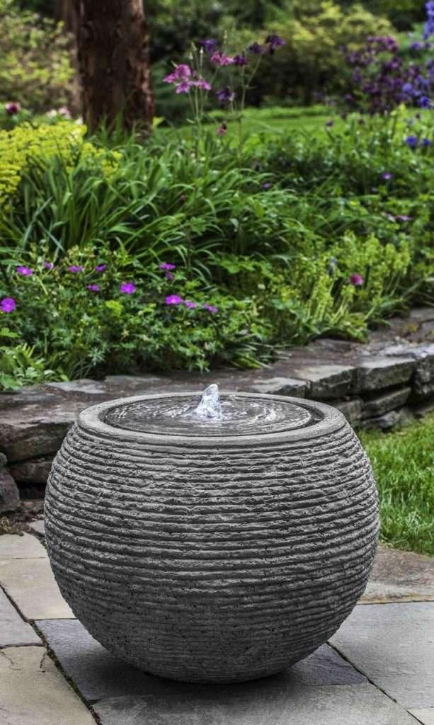 fontana giardino decorativa minimale