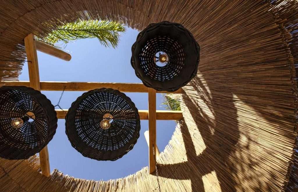 Kensho hotel Mykonos psarou soffitto