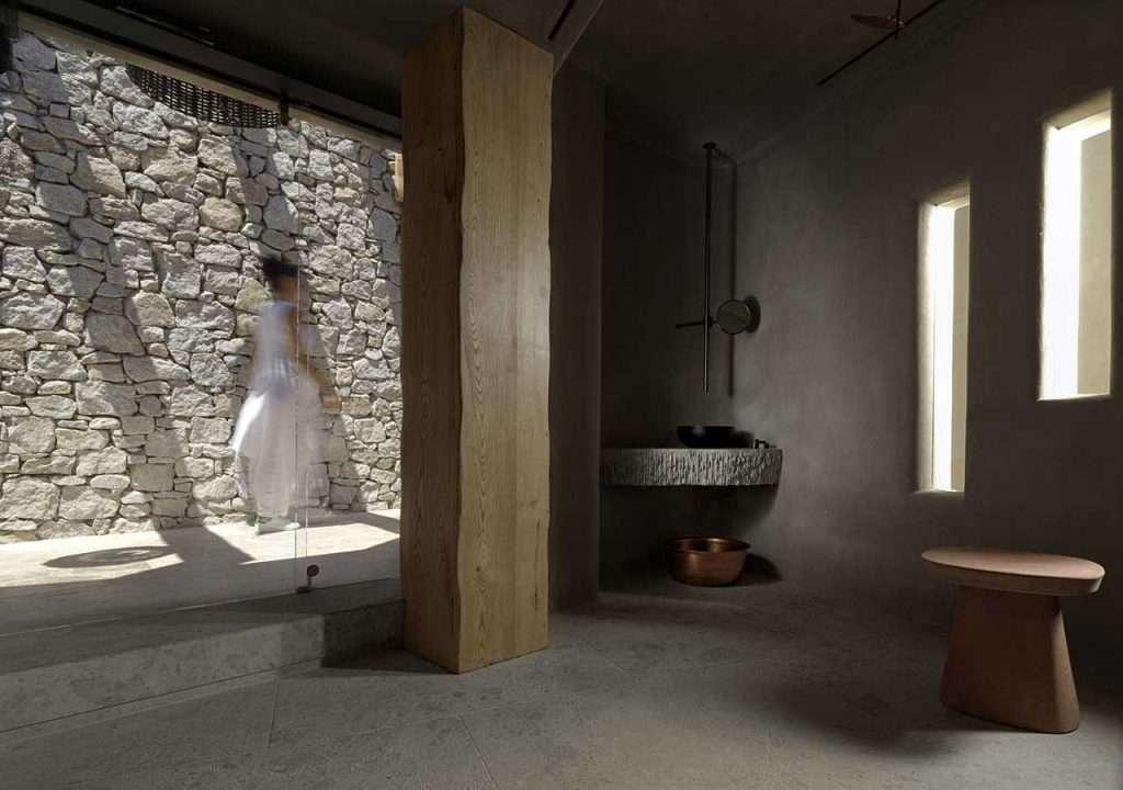 Kensho hotel Mykonos bagno