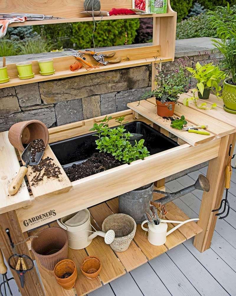 mobiletti per giardinaggio