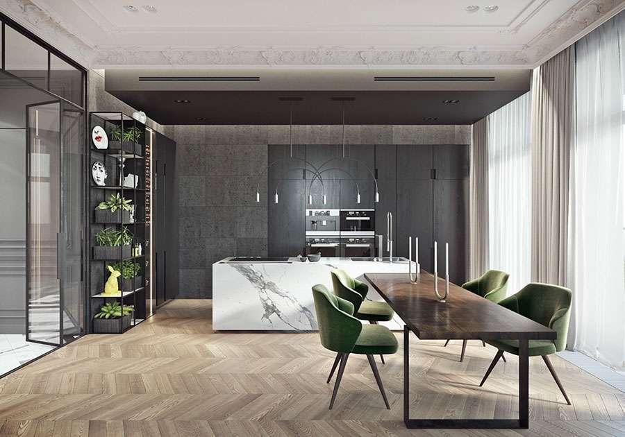 rivestimenti per cucina in marmo