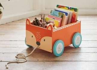 librerie per bambini giocattolo