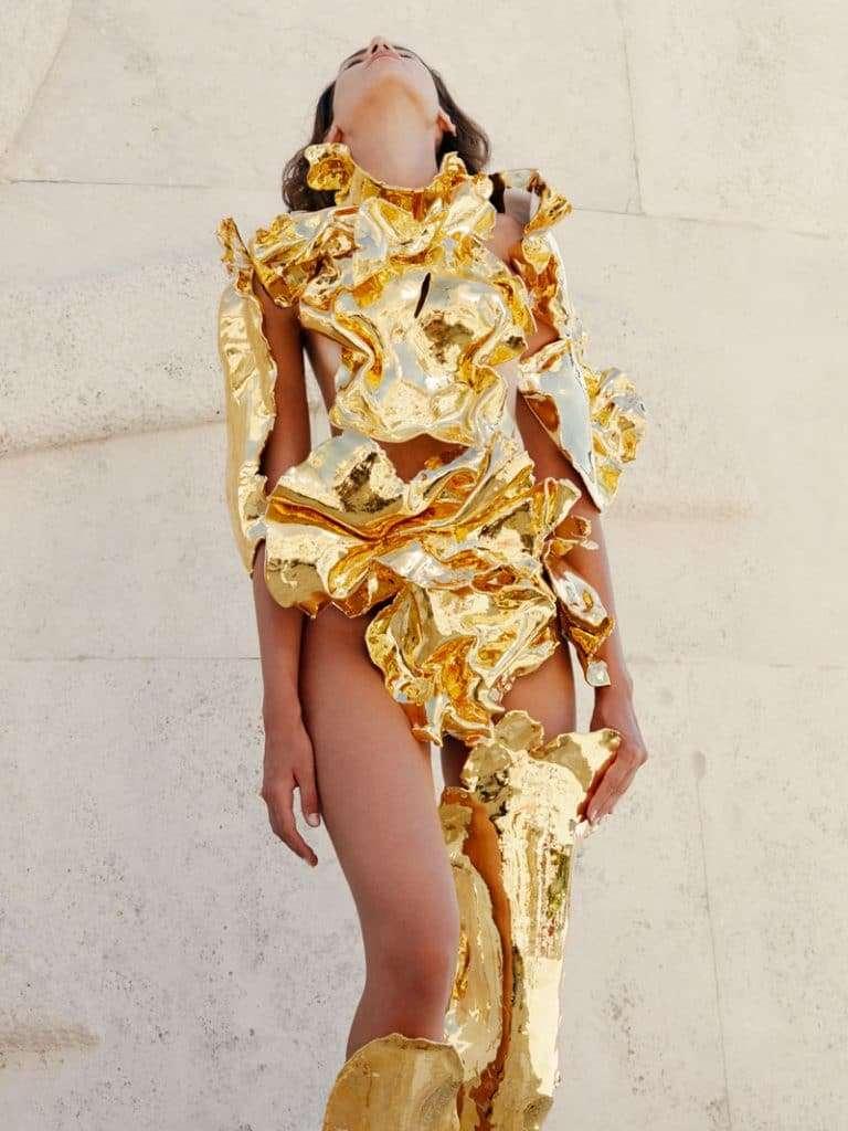 Nicola Bacchilega, dalla scultura all'Atelier Versace