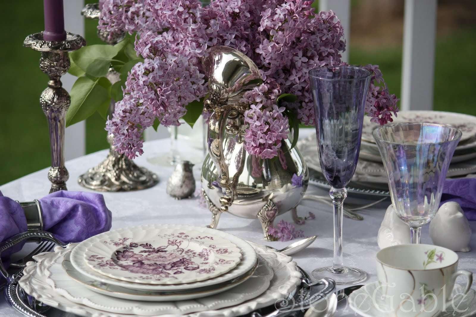 decorazione per la tavola provenzale
