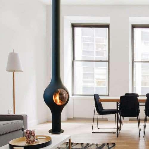 stufe a gas di design per il soggiorno