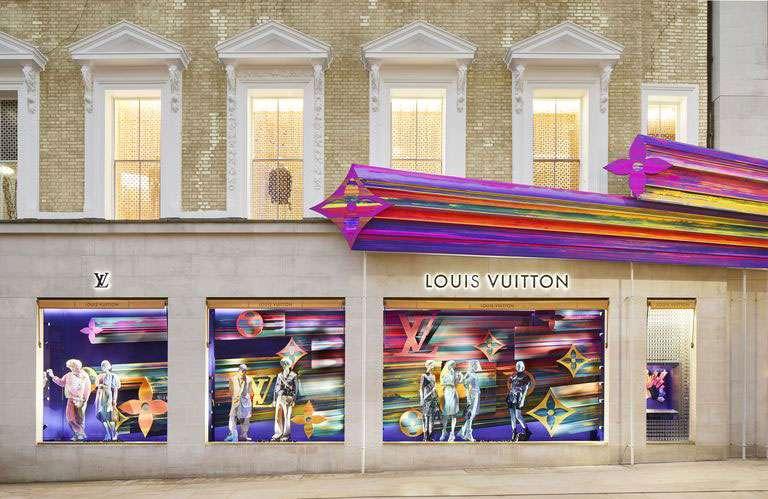 Vuitton flagship Londra: l'interno della boutique londinese