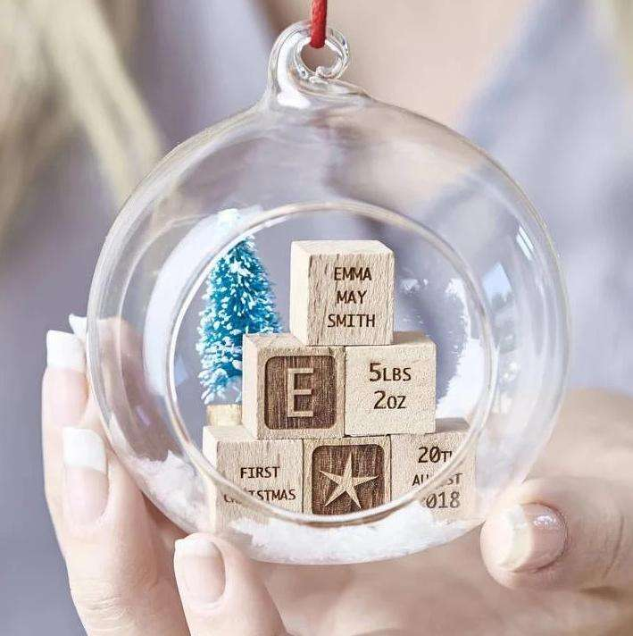 pallina del primo Natale