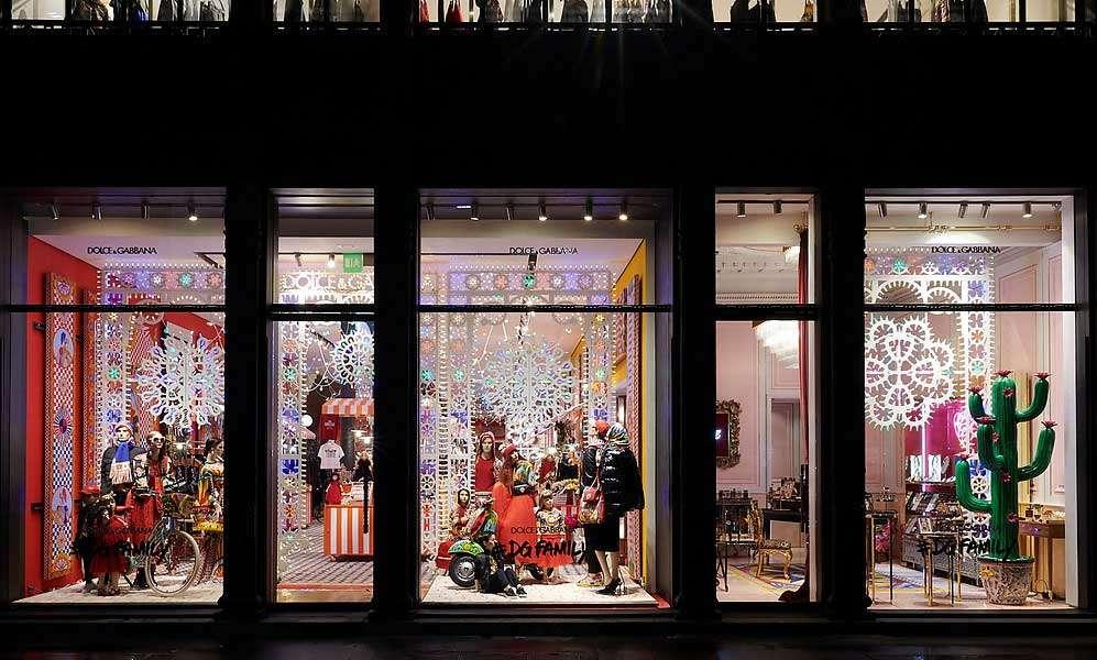 pop-up store di lusso a milano