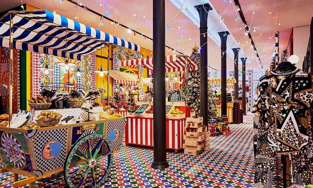 pop-up store di lusso nel mondo