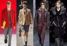 Prada, Gucci, Zegna Armani in moda uomo