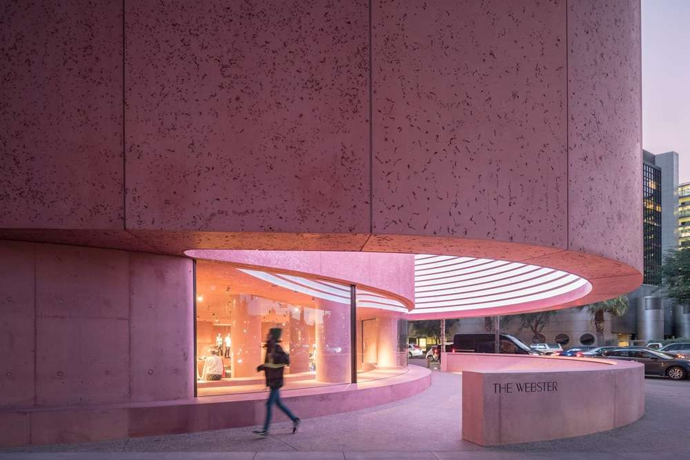 The Webster Los Angeles, il capolavoro in rosa firmato David Adjaye