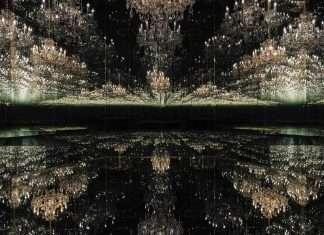 chandelier of grief Yayoi Kusama