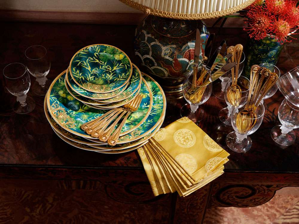 Versace Home presenta Jungle Collection