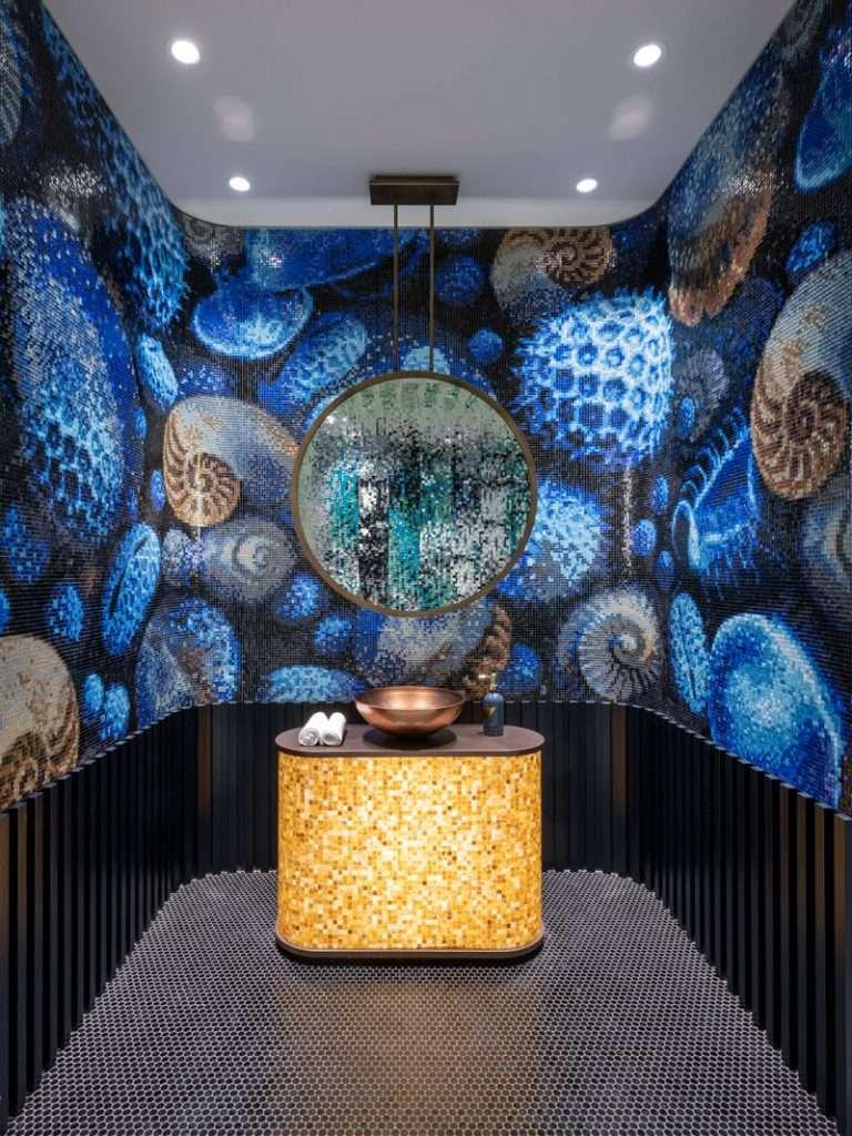 mosaico per bagno sicis