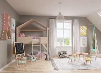 decorazioni per le pareti della cameretta dei bambini