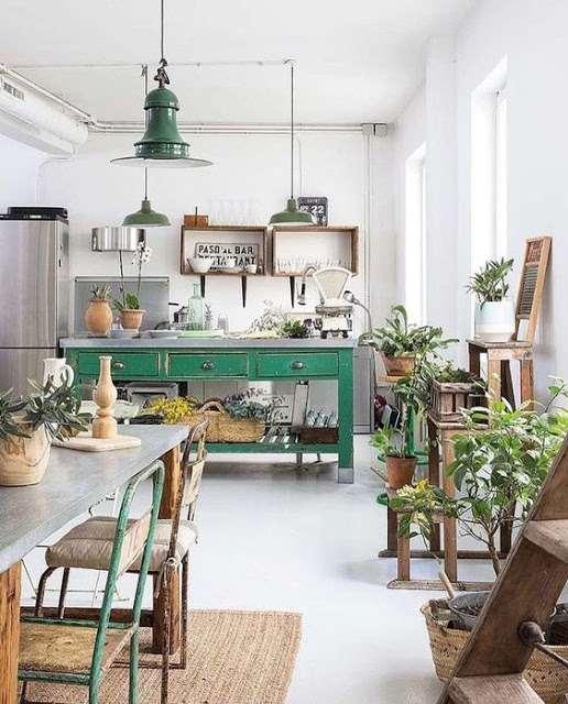 colore verde per arredare la casa in palette primaverile