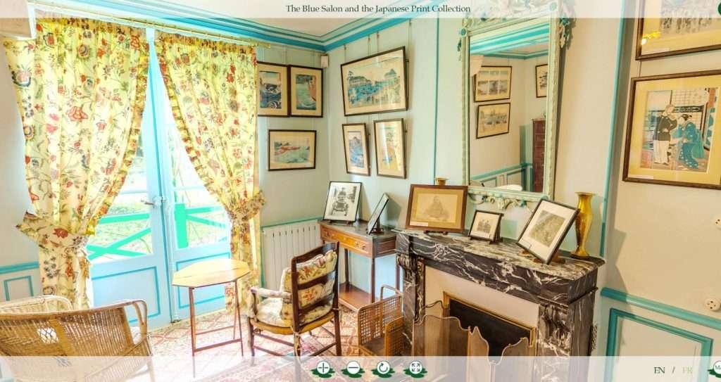 Tour virtuale della casa di Monet
