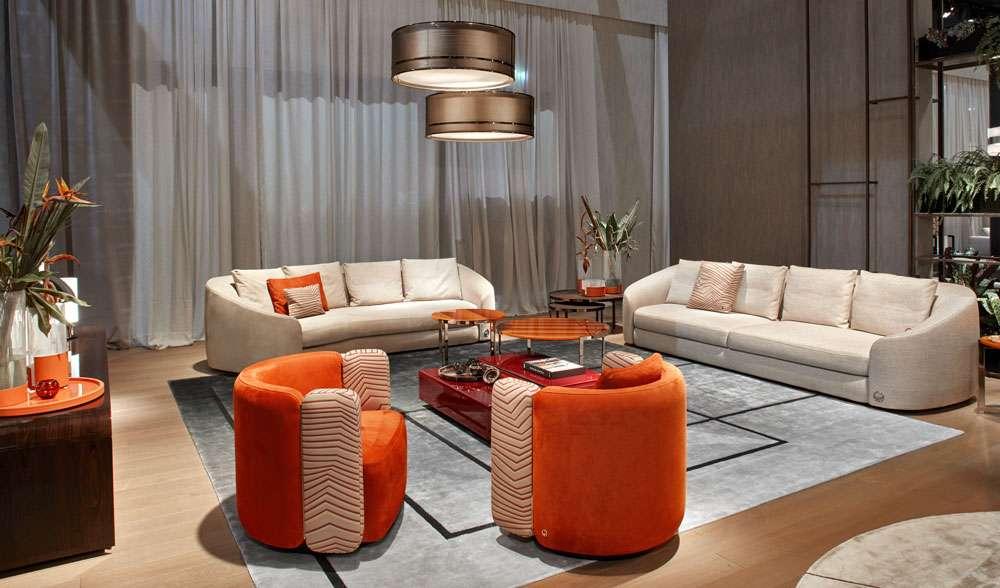 Poltrone e divani Fendi Casa