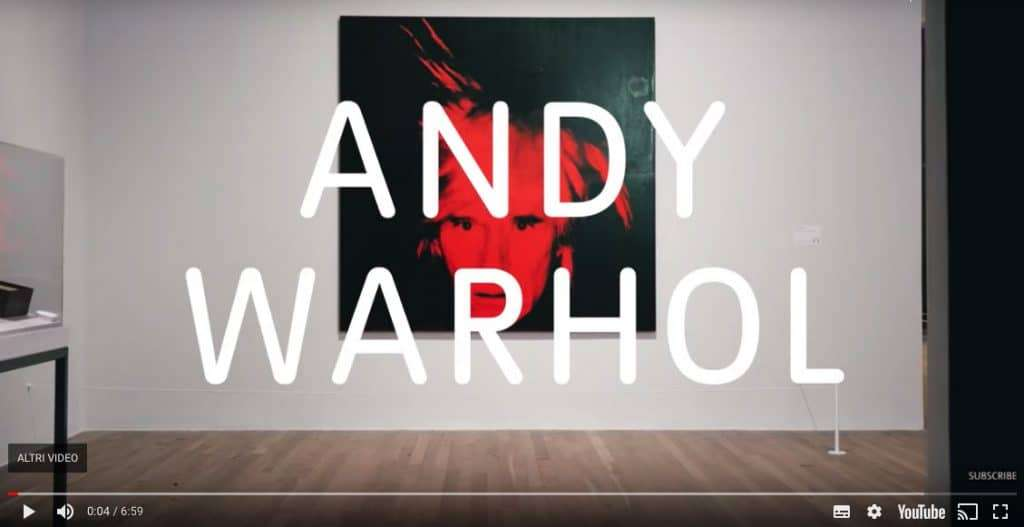 migliori mostre on-line andy warhaol