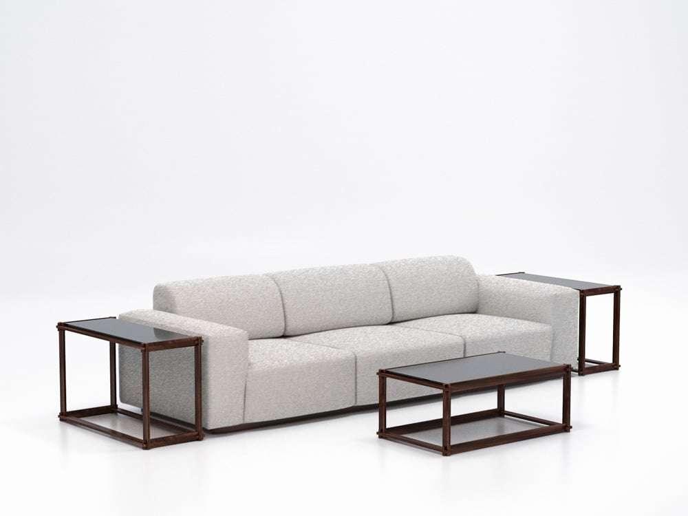 divano Play firmato Armani Casa