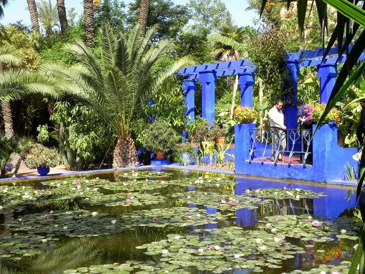 giardini Majorelle marrakesh