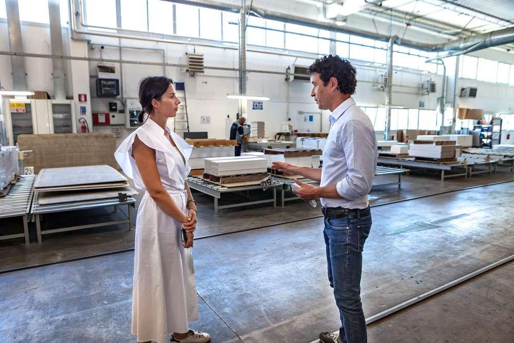 visita all'impianto di verniciatura fasi del processo